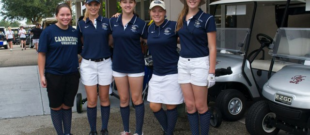Tampa Bay Tribune: District golf roundup: Cambridge Christian girls prevail