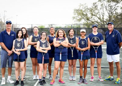 Girls Tennis 2018