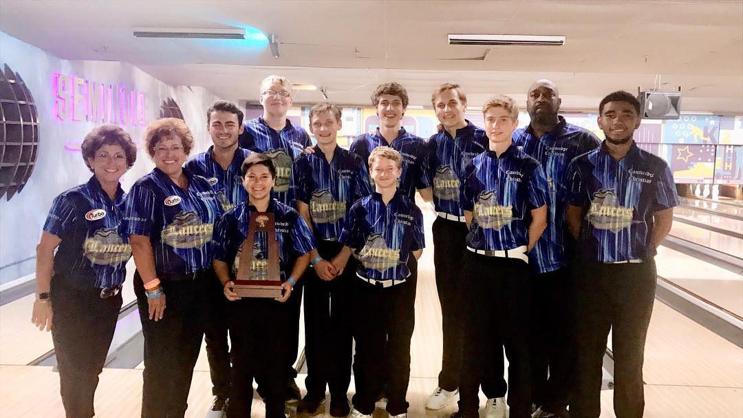 Boys Bowling Wins Second District Championship!