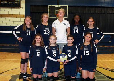 Middle School JV Volleyball Fall 2018