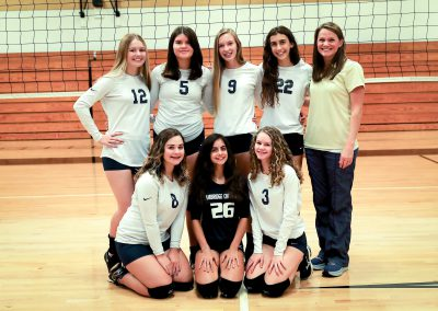 High School JV Volleyball Fall 2018