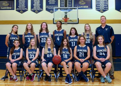 MS Girls Basketball 2018