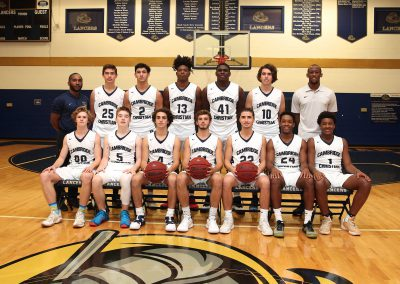 Varsity Boys Basketball 2018
