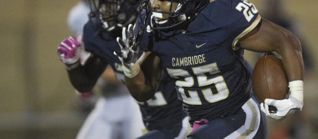 Football: Cambridge Christian 44, Clearwater Academy 34