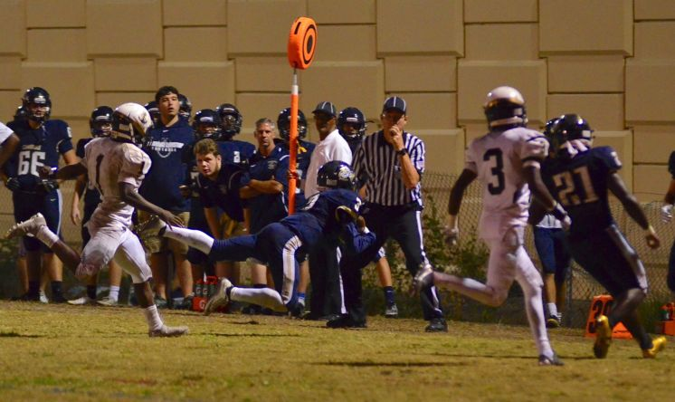 Football: Cambridge Christian 38, Admiral Farragut 14