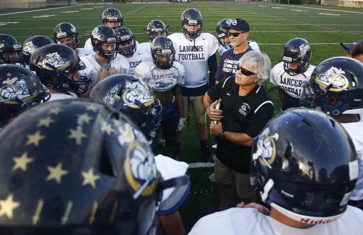 Cambridge Christian coach Bob Dare's game plan focuses on character