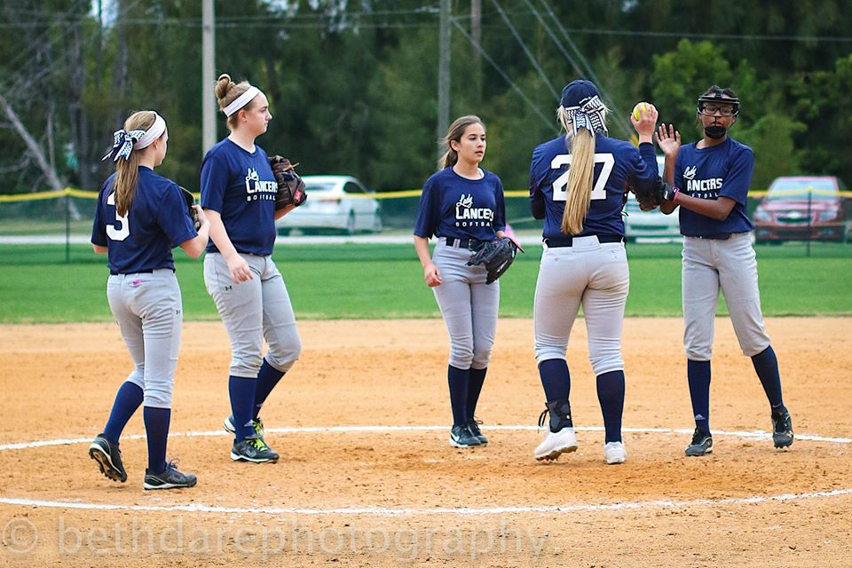 Cambridge Softball Coach and Players Receive FACA Honors