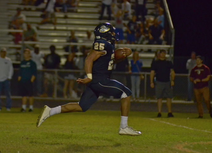 Football: Cambridge Christian 36, Admiral Farragut 32