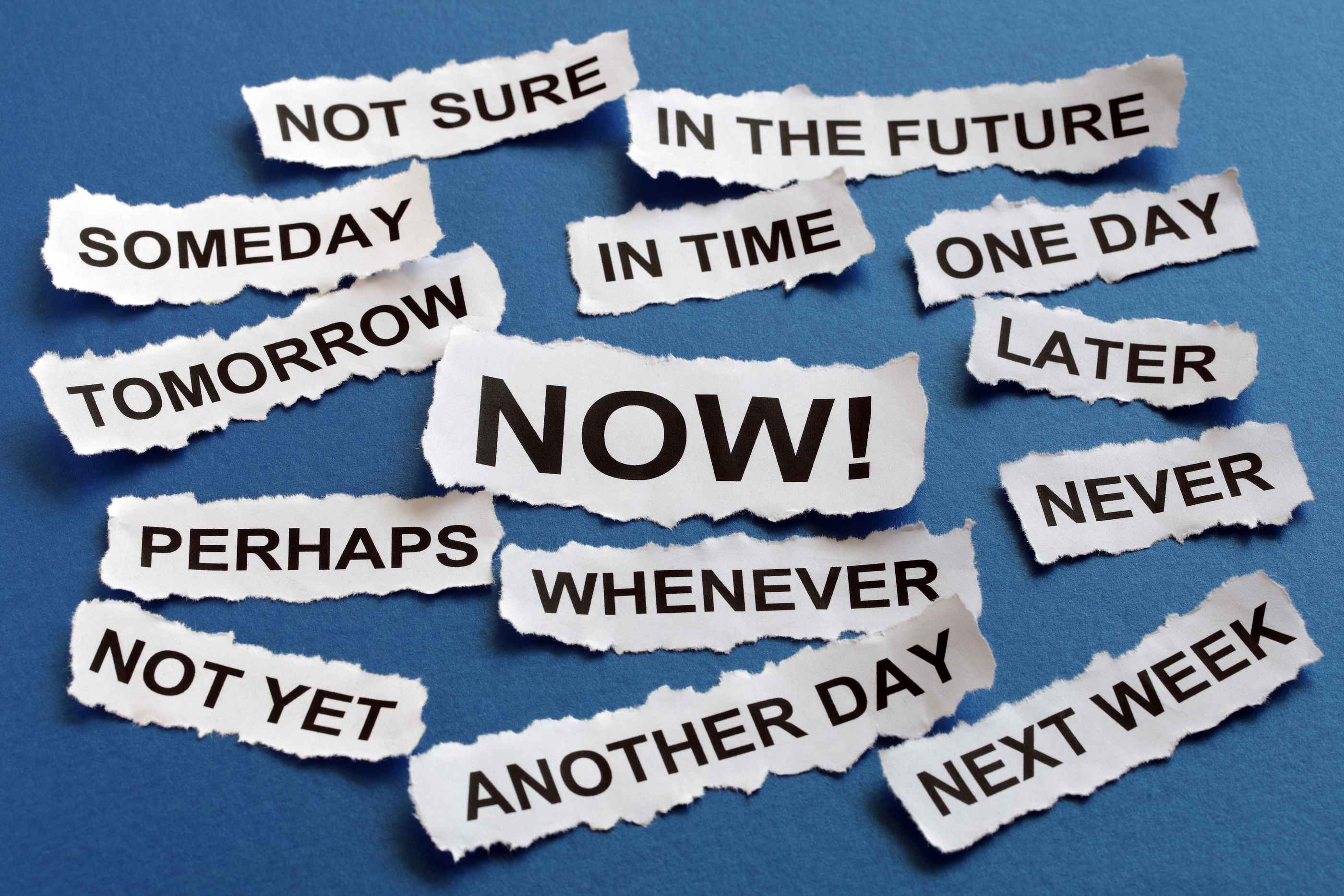 Why Do We Procrastinate in Giving?