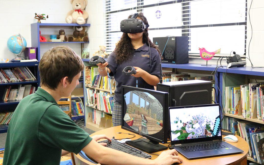 Tech Club Brings Minecraft to Life